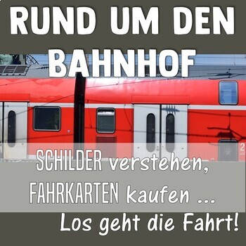 German: At the train station