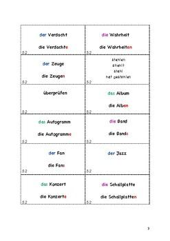 German B1.1 Vocabulary Flashcards Lesson 2
