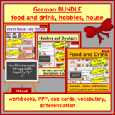 German BUNDLE  my house  food  leisure