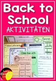 German Back to School activities- Materialsammlung für den Schulbeginn nach den