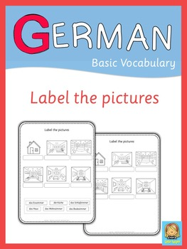 German label the pictures