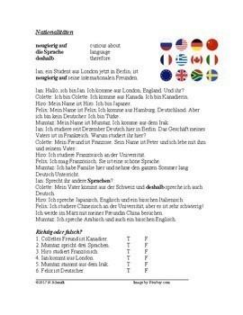 German Beginner Readings - 8 Lesungen Für Anfänger! (present tense)