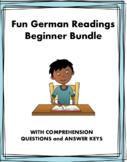 German Fun Beginner Readings Bundle - 5 Lesungen Für Anfänger! (present tense)