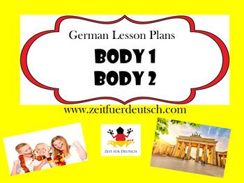 Body Bundle. German Powerpoints, Lesson Plans and Resources & Bonus Lessons