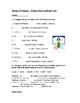 German Worksheets on Present Tense Verbs