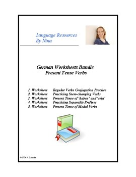 Worksheets German Teaching Resources   Teachers Pay Teachers