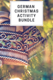 German Christmas Activity Bundle
