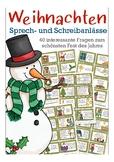 German Christmas - Weihnachten in Deutschland Speaking prompts, German culture