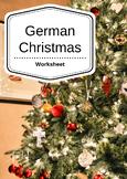 German Christmas Worksheet