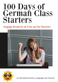 100 Days of German Class Starters - A Class Routine Ready