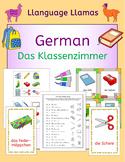 German School Classroom - Das Klassenzimmer - activities,