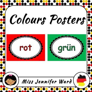 Color Posters in German