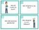 German Conversation Starter Task Cards - Deutsch Sprechen (Beginner Level A1/A2)