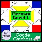 German Cootie Catchers