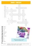 German Crossword: Fruits / Früchte - English to German tra