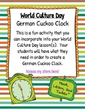 German Cuckoo Clock (for World Culture Day)