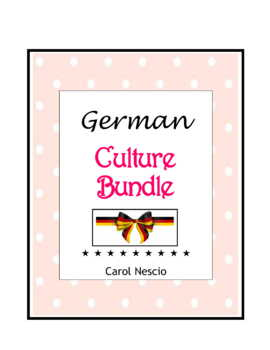 German Culture * Bundle