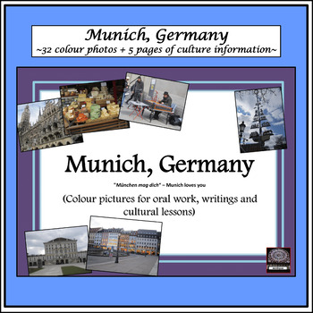 German Culture – Color Pictures for Oral Work - Munich, Germany