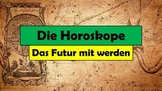 """German (Deutsch) - Horoscopes (Future with """"werden"""" worksheet)"""