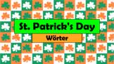 German (Deutsch) - St. Patrick's Day Vocabulary - PowerPoi