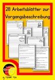 German- Deutsche Vorgangsbeschreibung schreiben