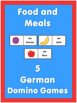 German Domino Games  Food and Meals