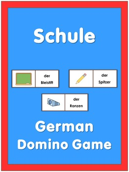 German Domino Game  Schule