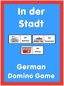 German Domino Game  in town
