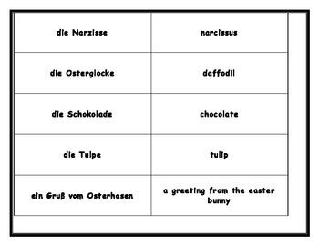 German Easter Board Game