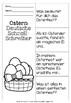 German Easter Quick Writes- Deutsche Schreibanlässe zu Ostern