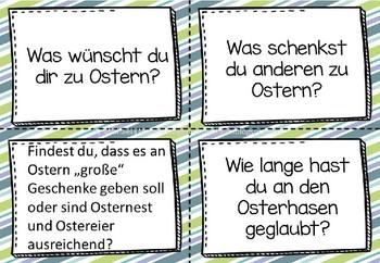 German Easter Smalltalk- Deutsche Sprechanlässe zum Thema Ostern