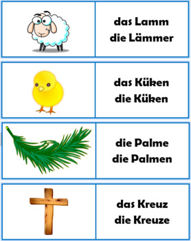 German Easter Vocabulary PowerPoint