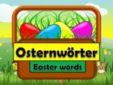 German (Deutsch) - Easter Vocabulary - PowerPoint + Flashcards