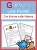 German Easy Reader  Die kleine rote Henne