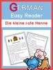 German Easy Reader  Die kleine rote Henne
