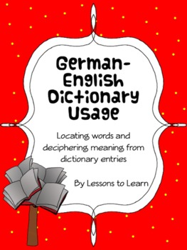 German-English Dictionary Pack