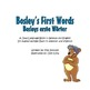 German / English Dual Language Book: Bosley's First Words