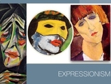 German Expressionism -  Expressionist Art History - Presentation + Exam