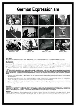 German Expressionism POSTER (.pdf) - Media Studies