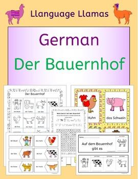 German Farm Animals - Auf dem Bauernhof