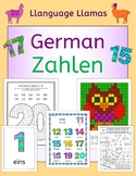 German Numbers Zahlen - activities, puzzles, bingo, flashcards