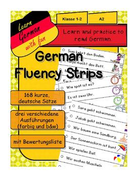 German Fluency Strips