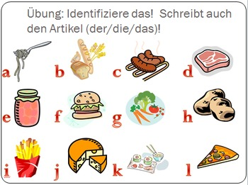 German Food Activity Bundle