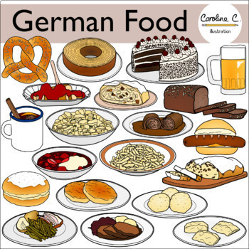 German Food Clip Art