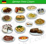German Food Clipart Set