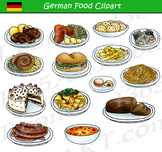 German Food Clipart Set