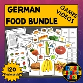 German Food Flashcards, Activities, and Games