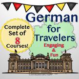 German For Travelers Bundle of 8 Complete PowerPoint Presentations