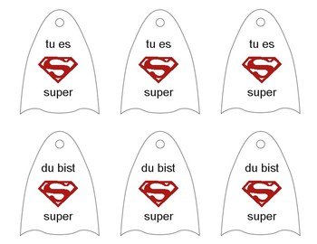 German & French Super Hero Capes