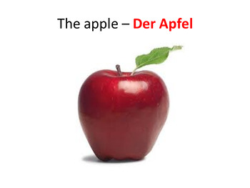 Food Bundle. Fruit and Breakfast German Powerpoints, Lesson Plans and Resources